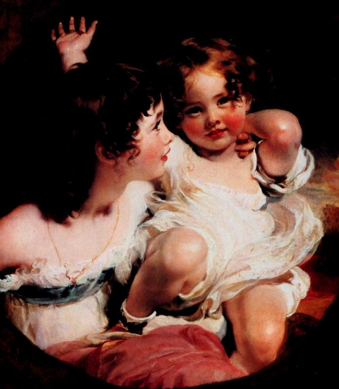 Thomas Lawrence - I bambini Calmady 1824 - BM&L collection